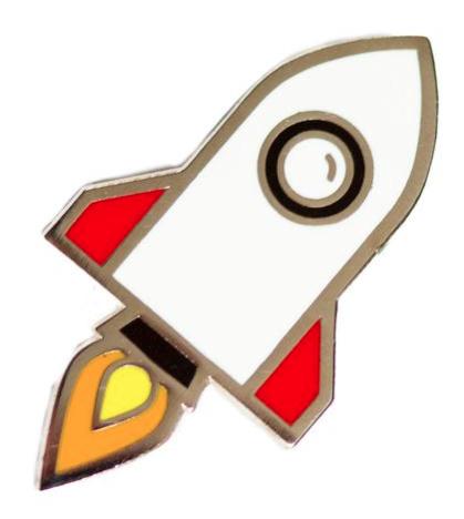 Rockship Pin