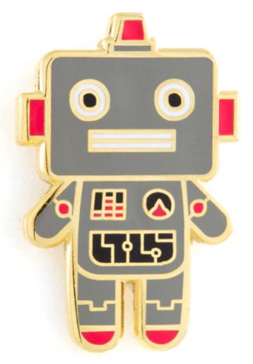 Robot Baby Pin