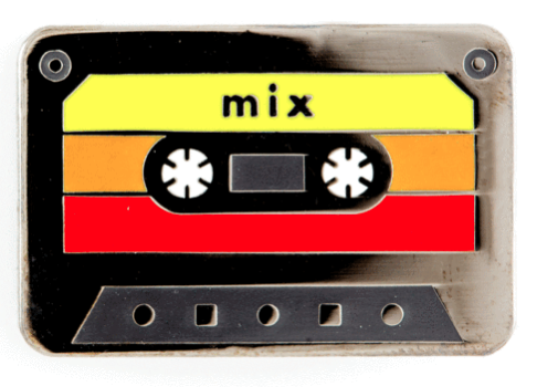 Mixtape Pin - 1