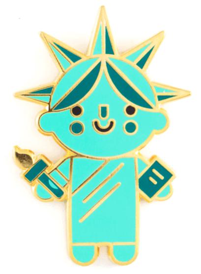 Liberty Baby Pin