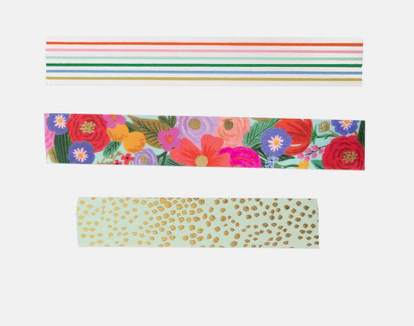 Garden Party Paper Tape 3