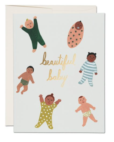 Beautiful Baby Card - 1