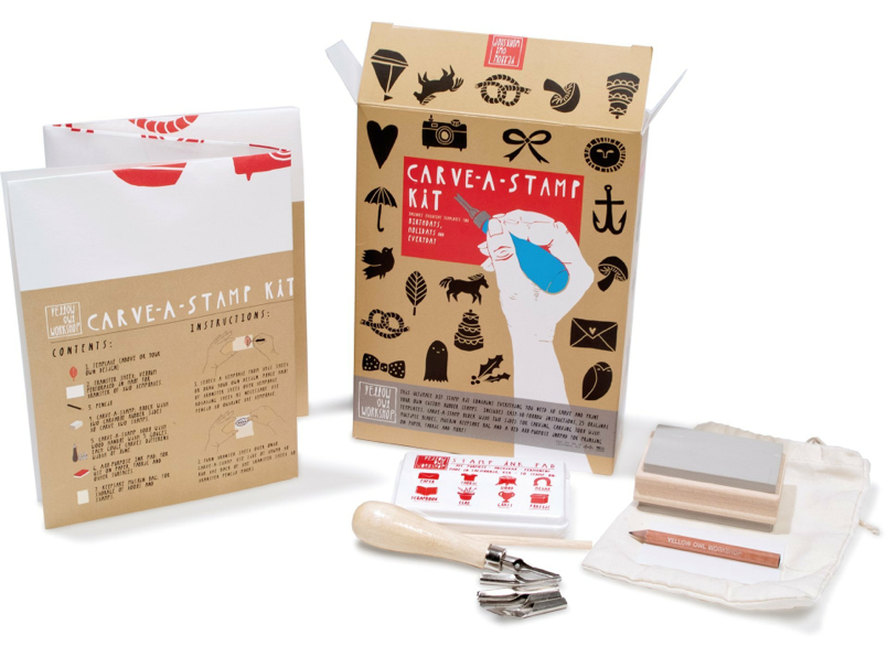 Carve -A- Stamp Kit 2017