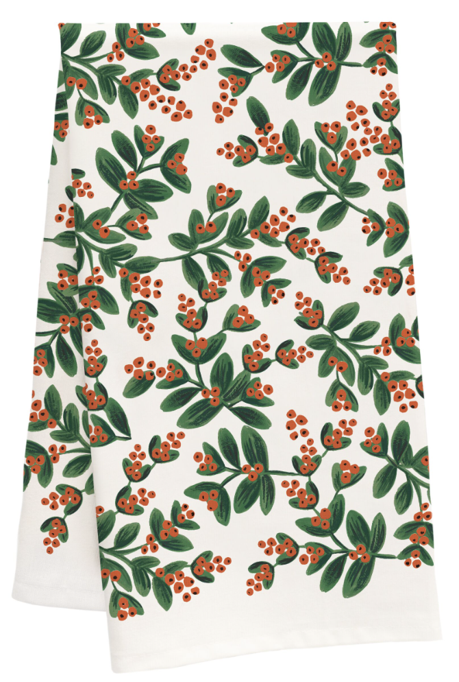 Mistletoe Tea Towel 2