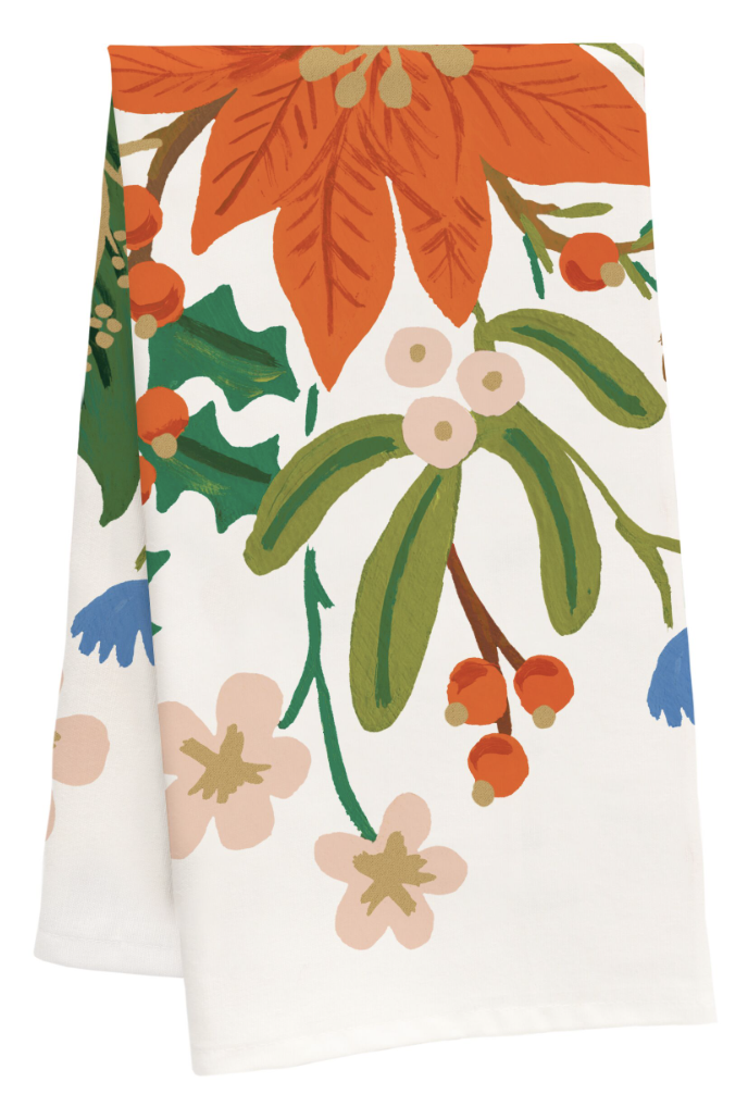 Holiday Bouquet Tea Towel 2