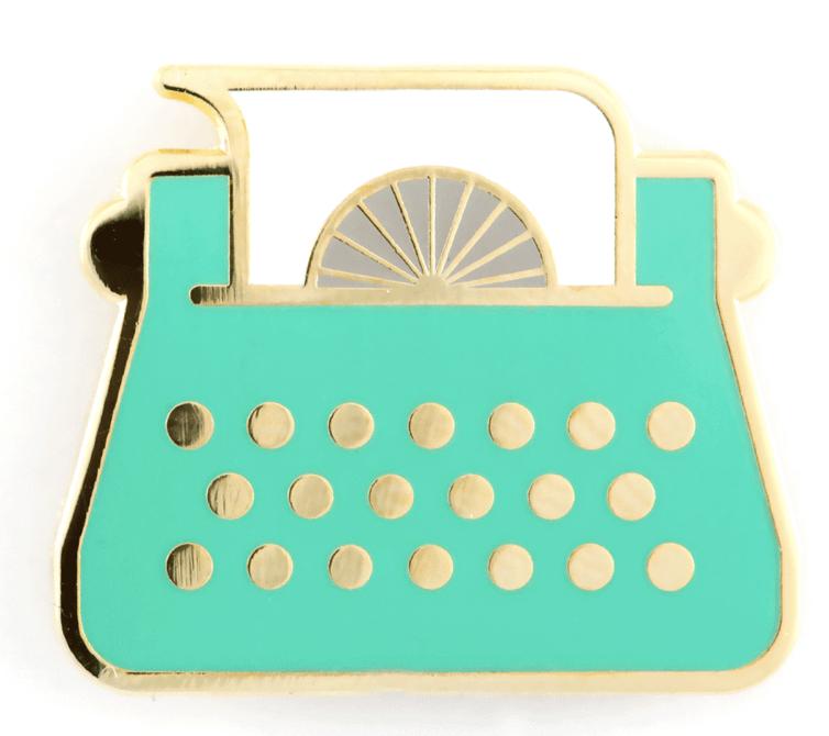 Typewriter Pin