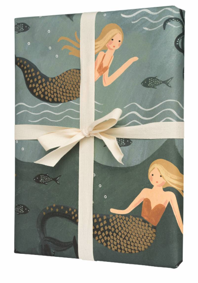 Mermaid Geschenkpapier