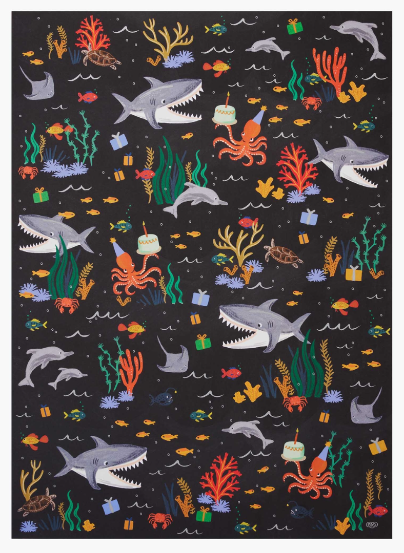 Under The Sea Gift Wrap 2