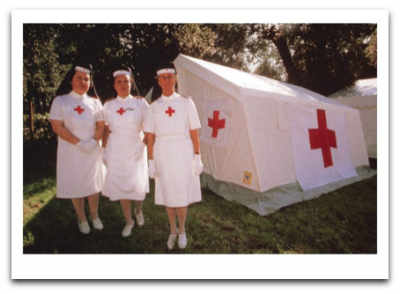 Three Nurses - Palm Press
