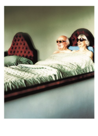 Old Couple in Bed - Palm Press