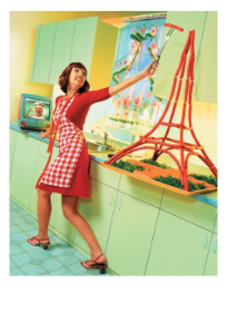 Hot Dog Eiffel Tower - Palm Press