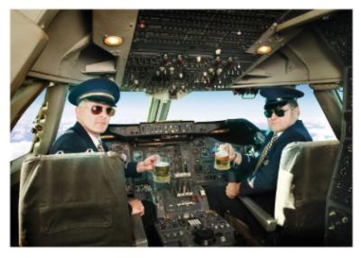 Pilots/Beer - Palm Press