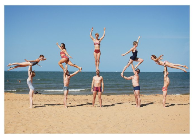 Beach Acrobats - Palm Press