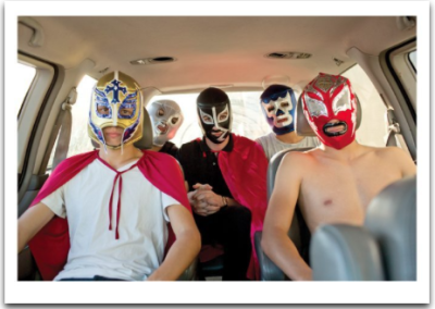 Maskered Guys - Palm Press
