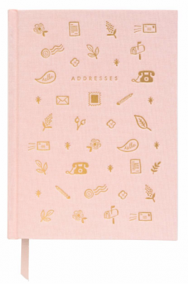 Blush Address Book - Adressbuch