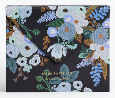 Garden Party Blue Kartenbox Rifle Paper