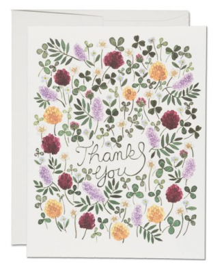 Wild Strawberries Card - Red Cap Cards