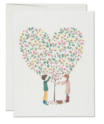 Apple Tree Card - Red Cap Cards