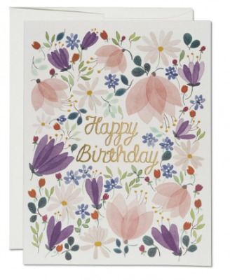 Birthday Whispers Card - Red Cap Cards