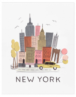 NYC Art Print Rifle Paper Co