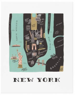 Manhatten Art Print Rifle Paper Co