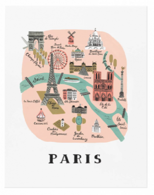 Paris Art Print Rifle Paper Co