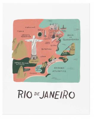 Rio de Janeiro Art Print - Rifle Paper Co.