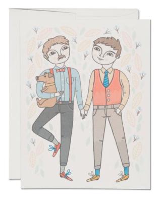 Boy Wedding - Red Cap Cards