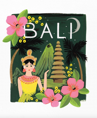 Bali Art Print Rifle Paper Co
