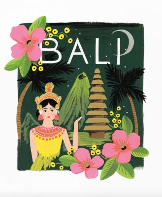 Bali Art Print Rifle Paper Co