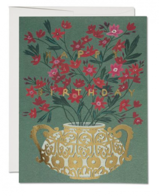 Golden Vase - Red Cap Cards