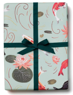 Koi Fish Wrap - Red Cap Cards