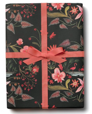 Pink Flamingos Wrap Red Cap Cards