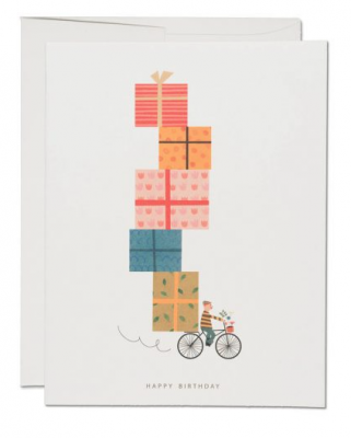 Birthday Bike - Red Cap Cards