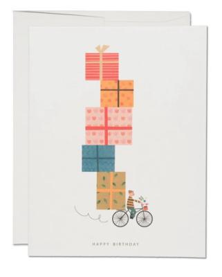Birthday Bike - Red Cap Cards