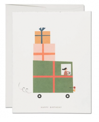 Gift Truck - Red Cap Cards