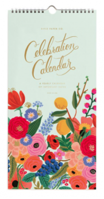 Celebration Calendar - Rifle Paper Geburtstagskalender