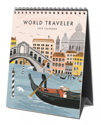 2020 World Traveler Calendar - Rifle Paper Co. Kalender