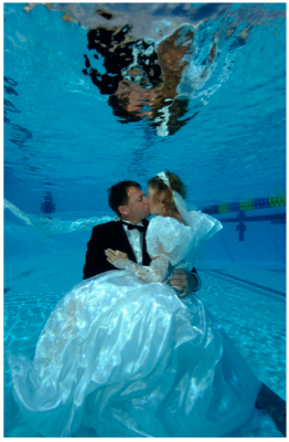 Under Water Wedding - Palm Press