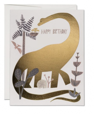 Dinosaur Birthday - Red Cap Cards