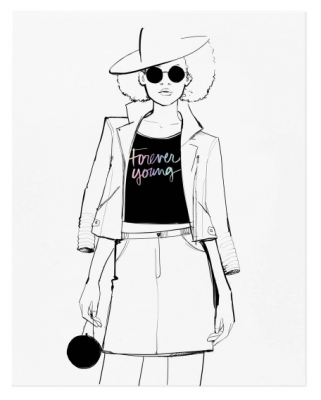 Forever Young Print - Garance Doré