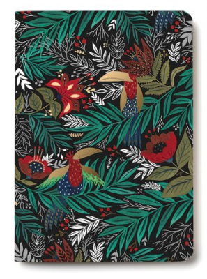 Parrots Notebook - Red Cap Cards