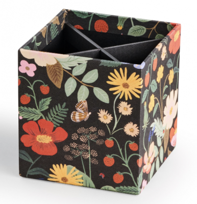 Strawberry Fields Pencil Cup Rifle Paper