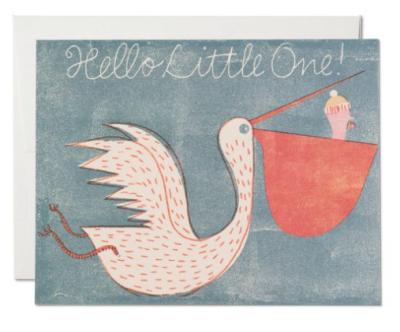 Pelican - Red Cap Cards