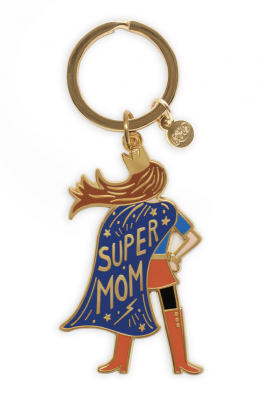 Super Mom Keychain Rifle Paper Co