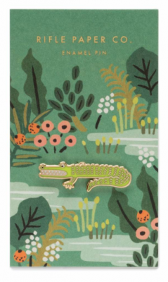 Alligator Emaille Pin - Rifle Paper Co.