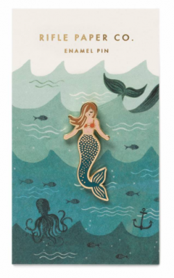 Mermaid Emaille Pin - Rifle Paper Co.