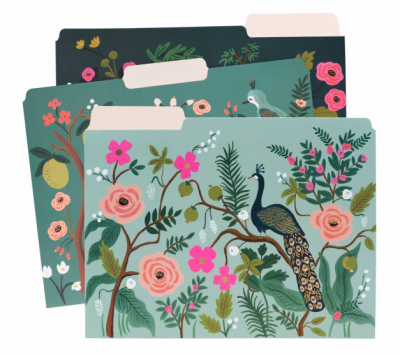 Shanghai Garden File Folders - Rifle Paper Co.