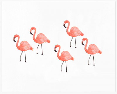 Flamingo Art Print - Kunstdruck