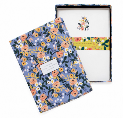 Violet Floral Briefpapier Rifle Paper Co
